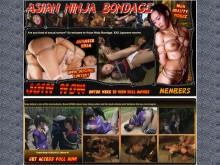 Asian Ninja Bondage