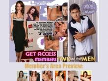 Two and a Half Men Porn Site XXX