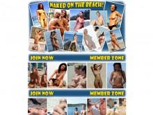 Naked On The Beach!