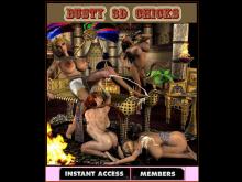 Busty 3D Chicks