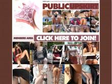 Public Upskirt