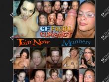 GF Facial Cumshot