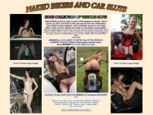Naked Bikers And Car Sluts