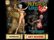 Monsters Love Girls